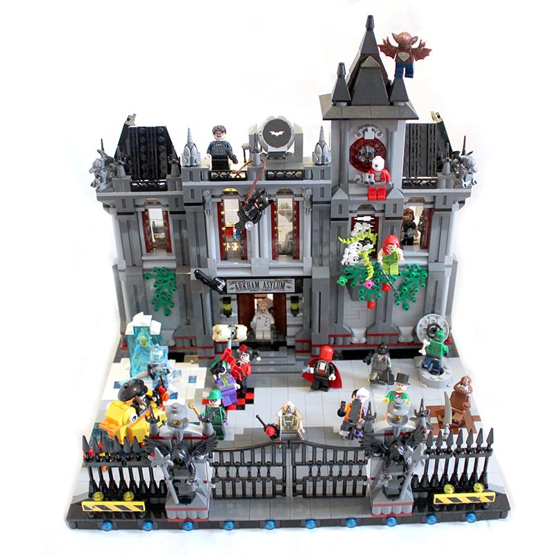 Lego Batman Arkham Knight: [MOC] Arkham Update !
