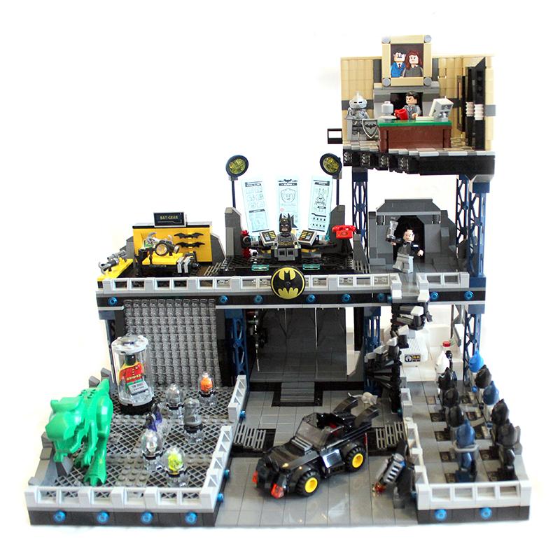 MOC] BatCave by LeaG - LEGO Licensed - Eurobricks Forums
